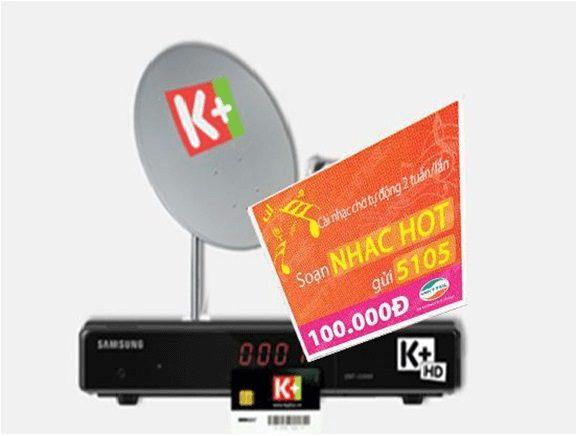 thẻ cào khuyến mãi K+