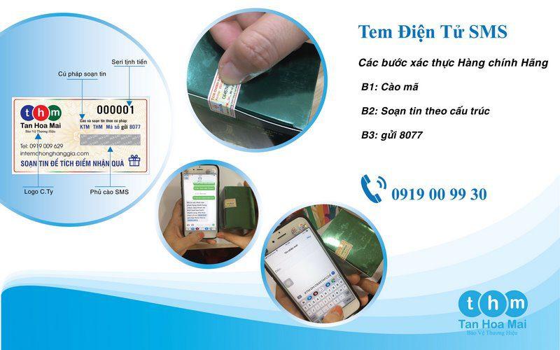 tem điện tử sms