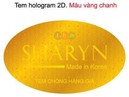 tem chống hàng giả hologram 2D tân hoa mai