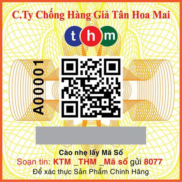 tem truy xuất nguồn gốc tích hợp điện tử sms tân hoa mai