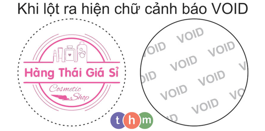 tem void chống giả