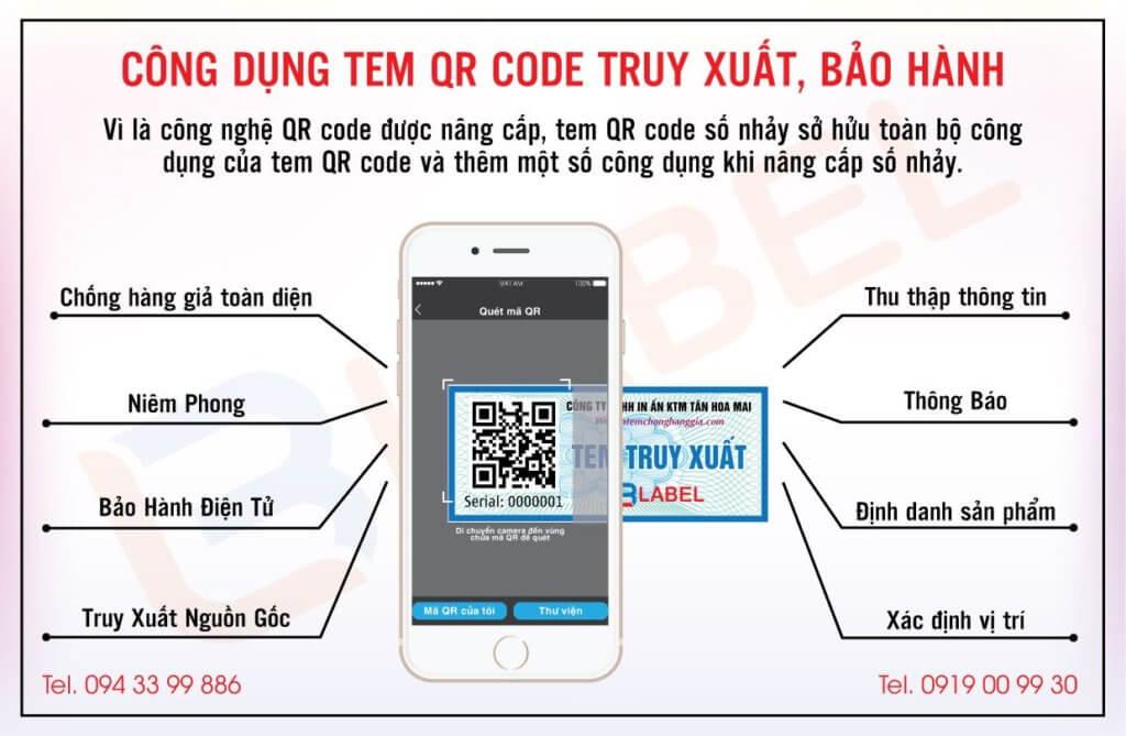 Cách quét qrcode trên tem công nghệ 4.0 bằng điện thoại